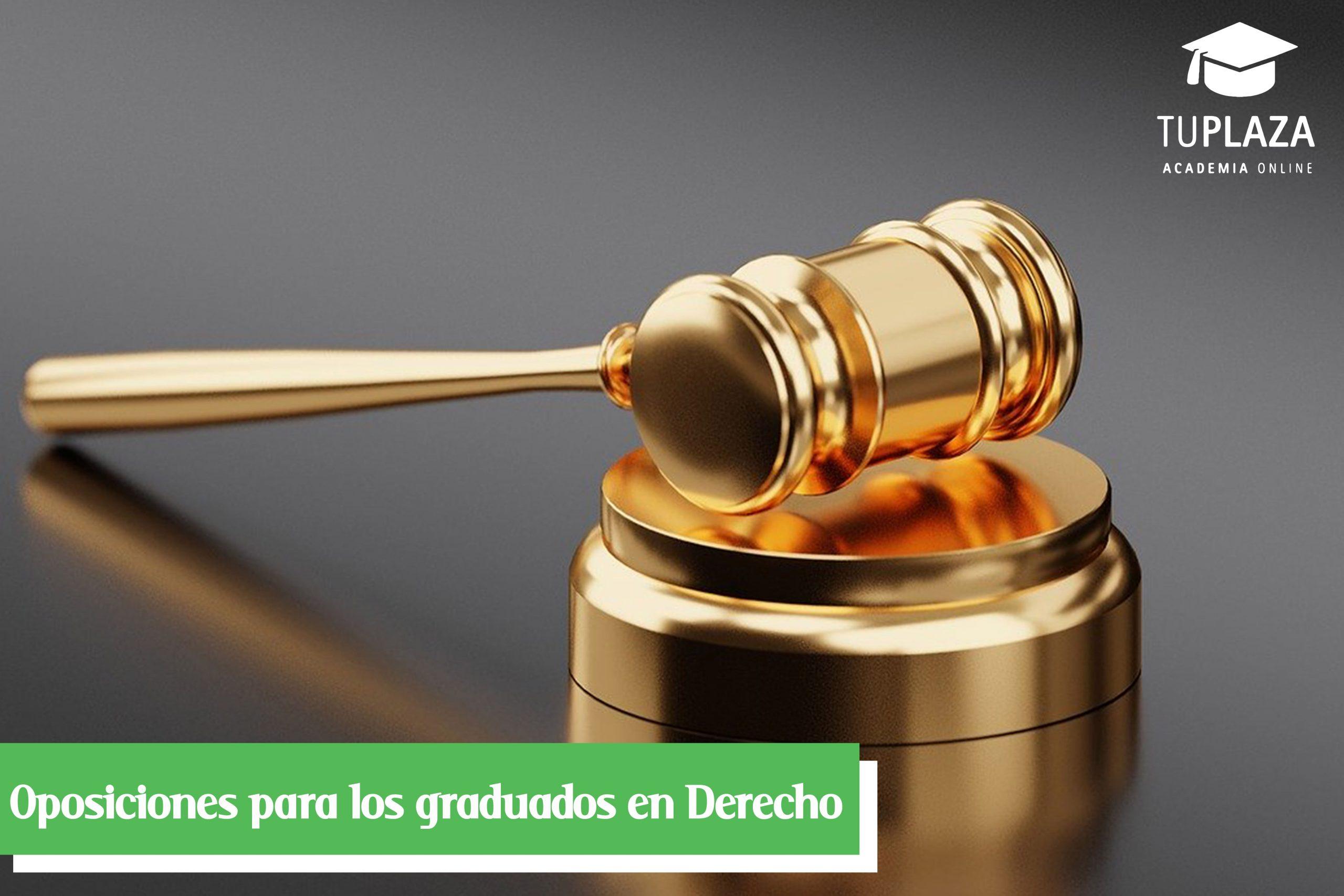 01-Oposiciones para los graduados en Derecho